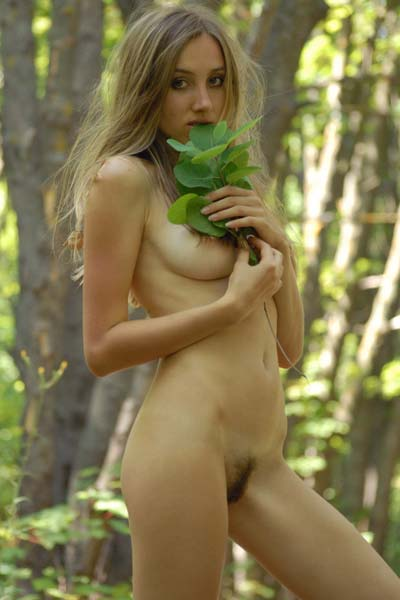 Model Vika in Just Walk